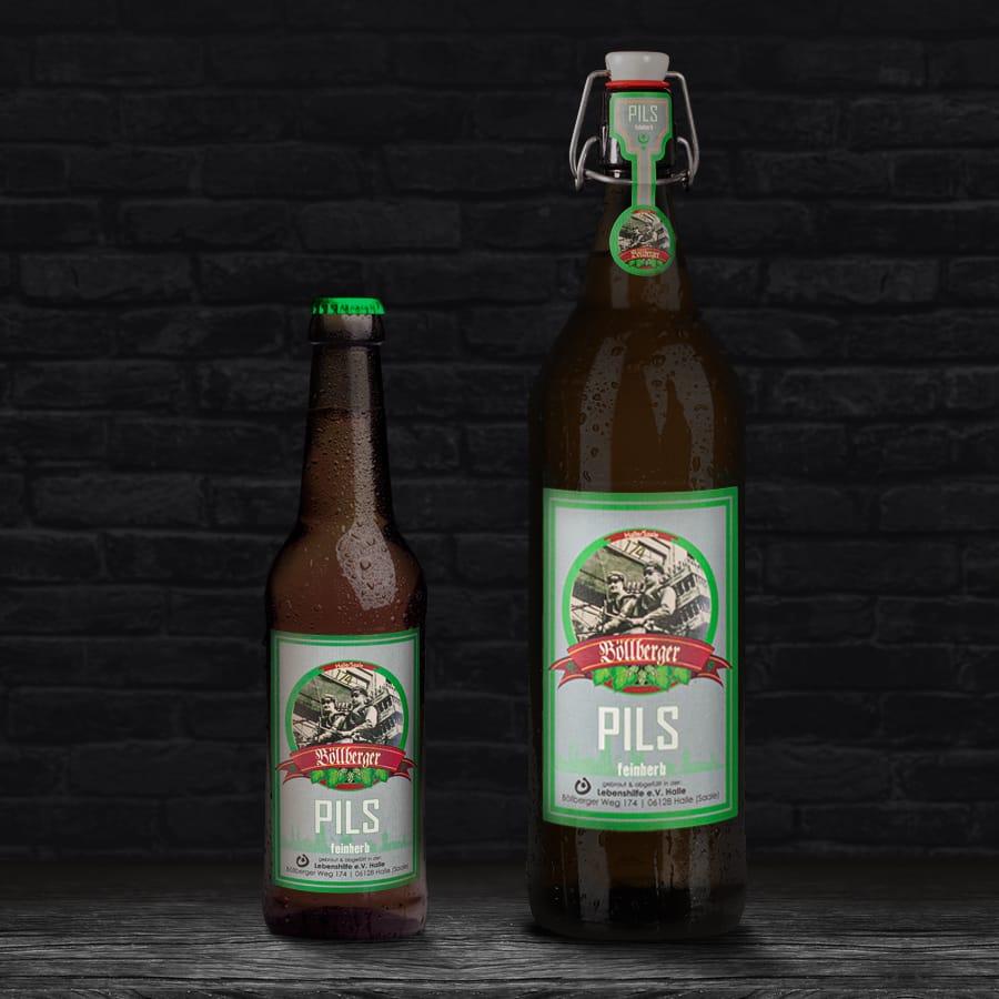 Regionales Bier aus Halle (Saale)